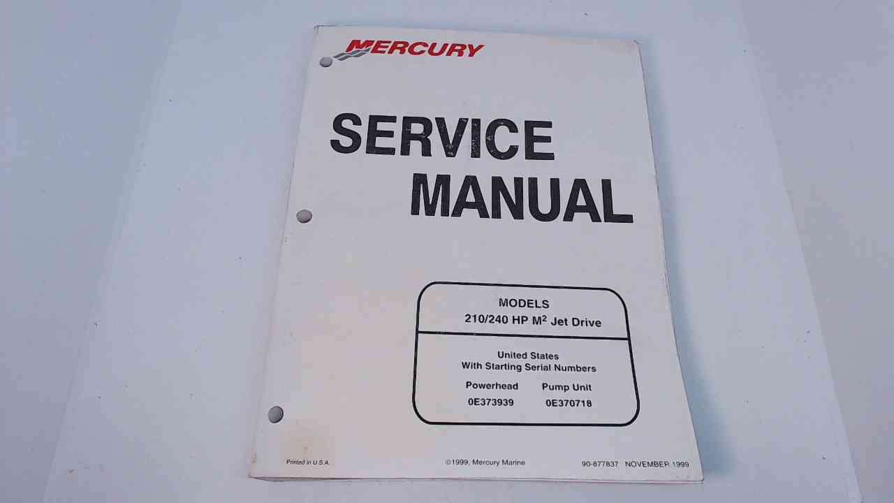 mercury 240 service manual