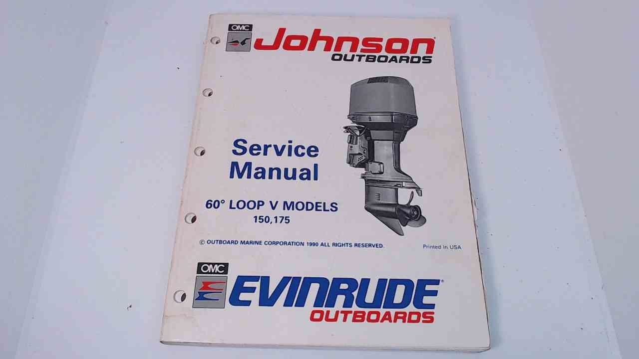 507950 Johnson Evinrude Service Manual 60 Loop Models 150