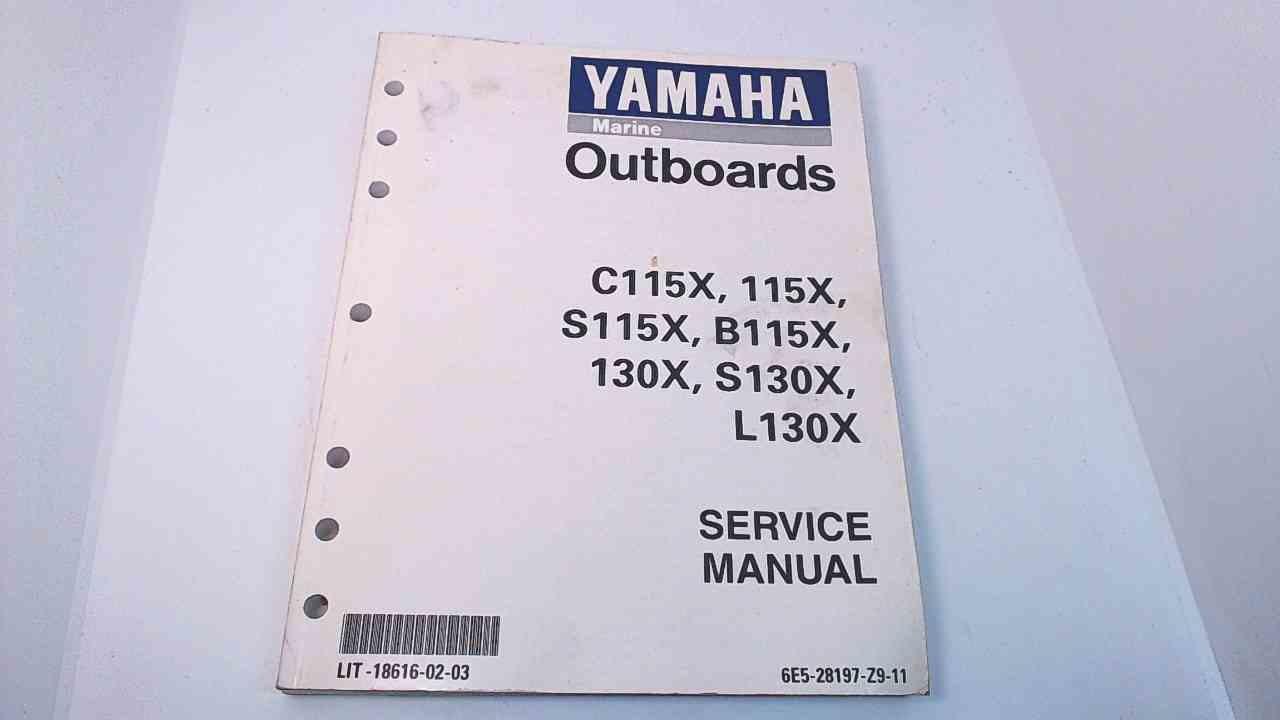 LIT-18616-02-03 6E5-28197-Z9-11 Yamaha Service Manual  C115X/115X/S115X/B115X+