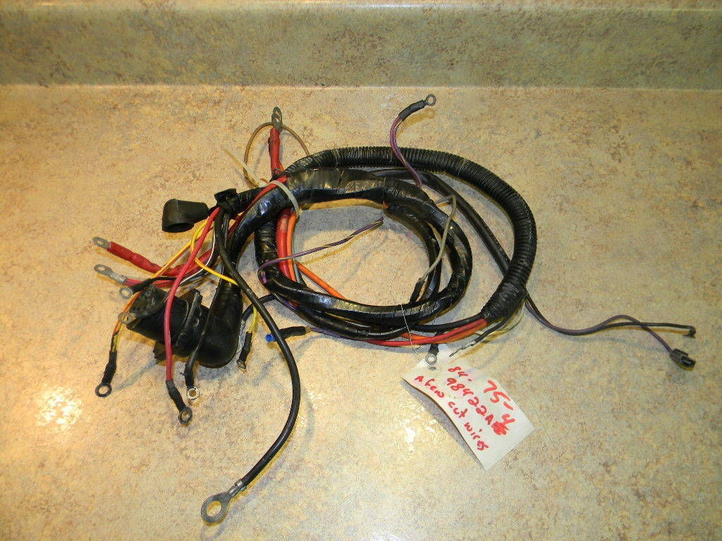 Mercury Wire Harness Best Secret Wiring Diagram Outboard 1983 1989 Mercruiser 98422a4 120 140 Hp 2 5 115