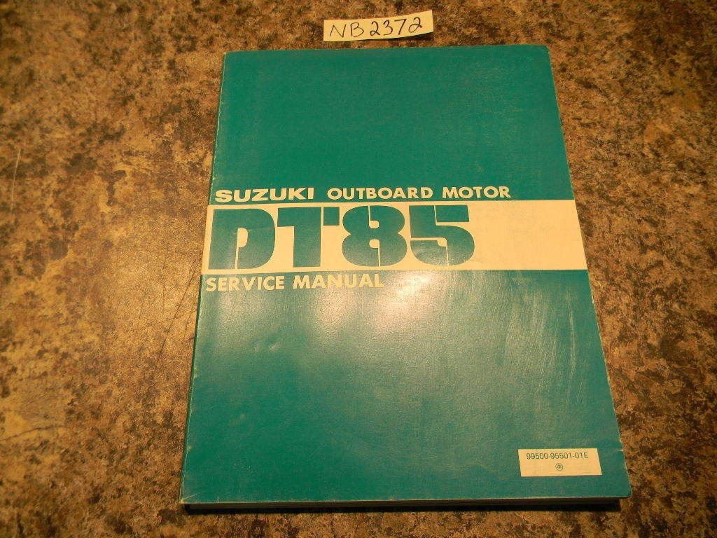 Suzuki Dt85 Outboard manual by Vin number