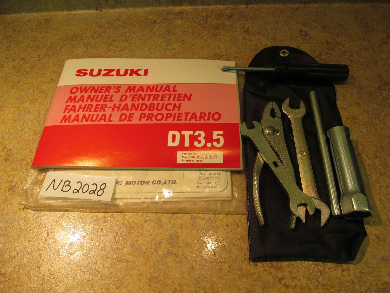 Suzuki Dt3 5 manual high School Denver