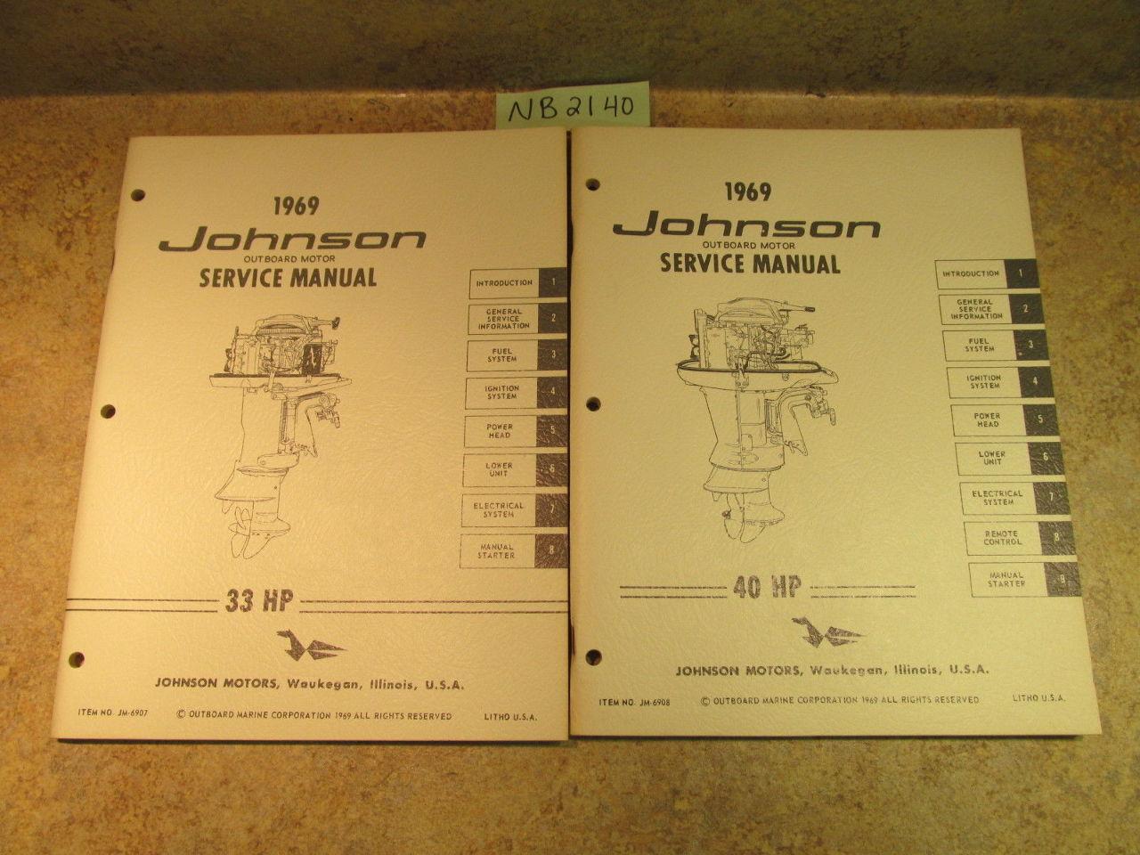 Johnson Outboard controls manual