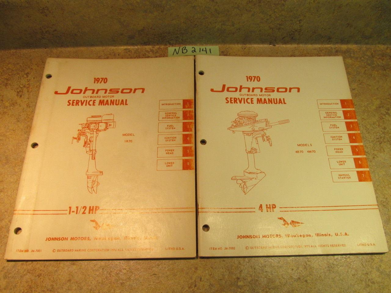 115 Hp Johnson outboard manual