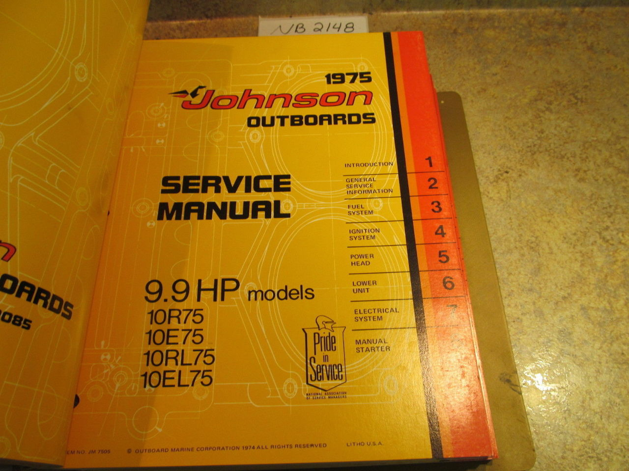 1975 Evinrude Manual 15 Hp Spark plug gap