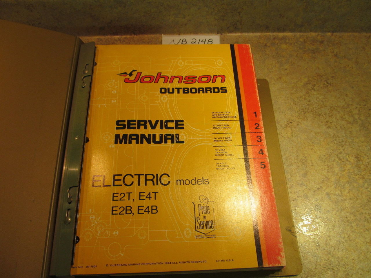 1975 Evinrude Manual 15 hp