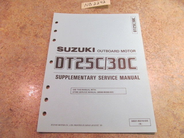 Suzuki Dt 25 Owners Manual