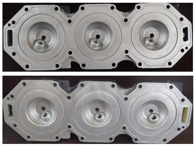 858483T07 Mercury 2000-08 Optimax Cylinder Head Set 200 225 HP REFURBISHED