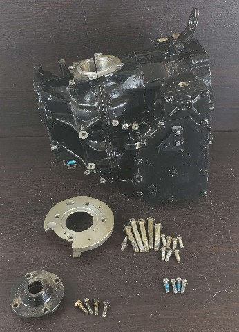 437342 Johnson Evinrude 1995-2005 Empty Cylinder Block 48 50 HP FOR  PARTS/REPAIR