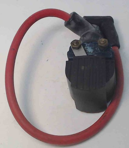 "832757A4 7370A13 Mercury 1972-06 Ignition Coil w/14-1/2"" Lead 6 8+ HP 1 YEAR WTY"