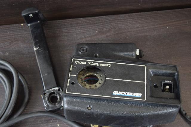 Mercury Quicksilver Side Mount Control Box W 15 Harness