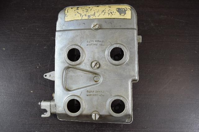 1976 Johnson Evinrude Air Silencer Cover Base 319797 387870 85 115 135 HP