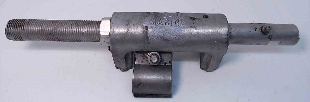"""T&R Marine Outboard Transom Steering Cable Support Tube Bracket 11-1/2"""" Long"""