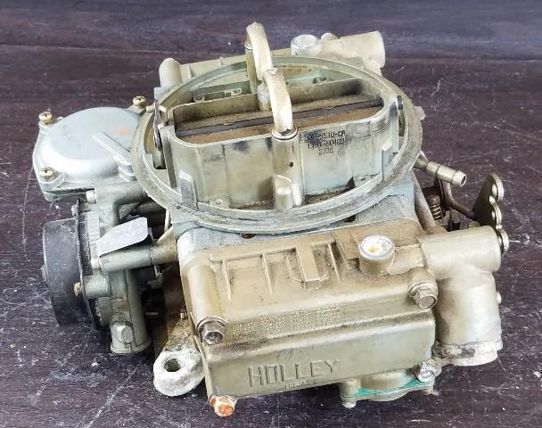 E8Jl CA A 8K4 Motorcraft Holley 4 Barrel Carburetor FOR PARTS OR REPAIR!