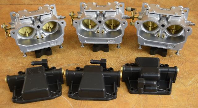 398564 C# 334330 Johnson Evinrude 1987-1988 Carburetor Set 150 HP V6  REBUILT!