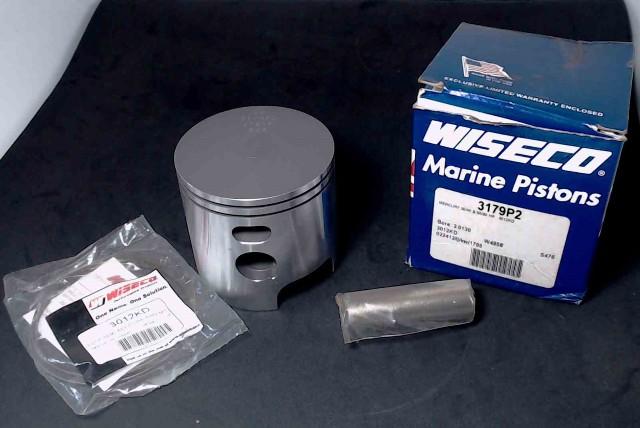 NIB Mercury 40//50//60 HP 3Cyl Wiseco Piston Kit .020 3179P2 705-850026 Bs 3.012