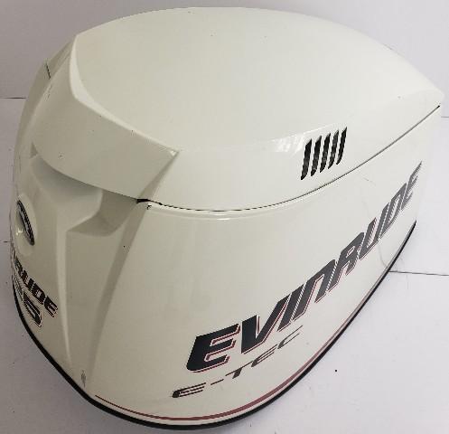 285653 Evinrude E-TEC ETEC 2005-08 White Hood Cowling Cover 200 225 250 300  HP