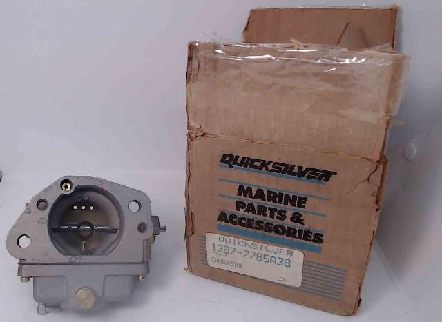 7785A38 WO-5-1A Mercury 1983-1989 Top PORT Carburetor Assembly 300 HP 3.4L NOS!