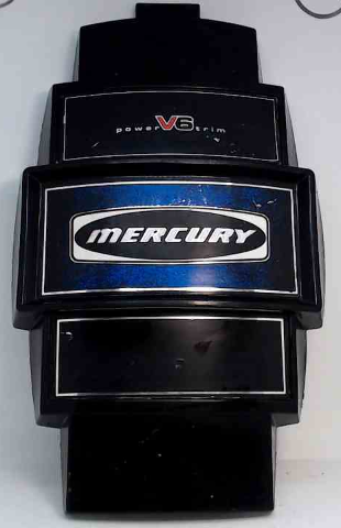 Mercury Front Cowl Cover Medallion Power Trim V6 5399A1 1979-88 150 175 200 HP