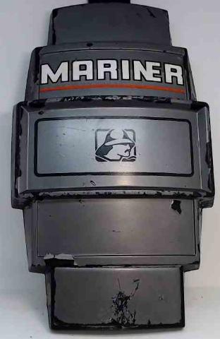 "Mercury & Mariner Front Cover Medallion 14-1/2"" L x 8-3/4"" W"