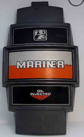 "Mariner Front Cover Medallion Oil Injected 14-1/2"" L x 8-5/8"" W"
