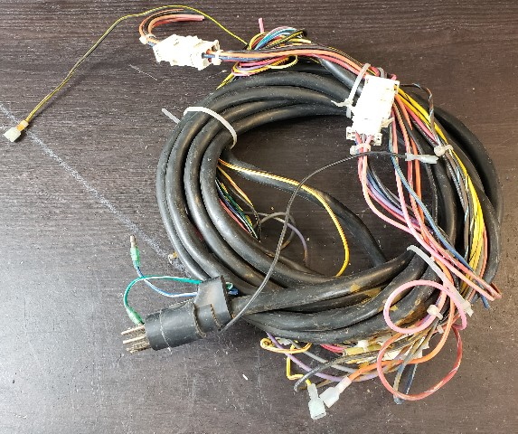 Details about Mercury External Wiring Harness 27' 27 Feet 8 Pin Black on mercury wiring diagrams, mercury voltage regulator, mercury tach wiring, mercury wiring color code, mercury harness part number,