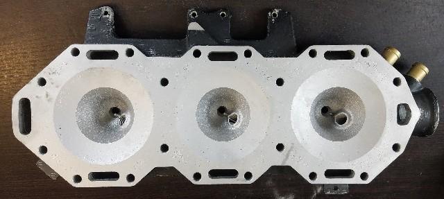 C# 353432 Evinrude Port Cylinder Head V6 REFURBISHED!