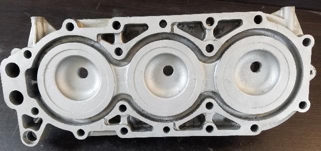 C# 319355 Johnson Evinrude Cylinder Head Unknown Years & HPs REFURBISHED!