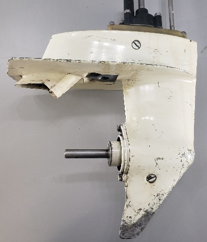 """1980-90 Johnson Evinrude 15"""" Lower Unit 4.5 5.5 7.5 HP 1 YEAR WTY"""