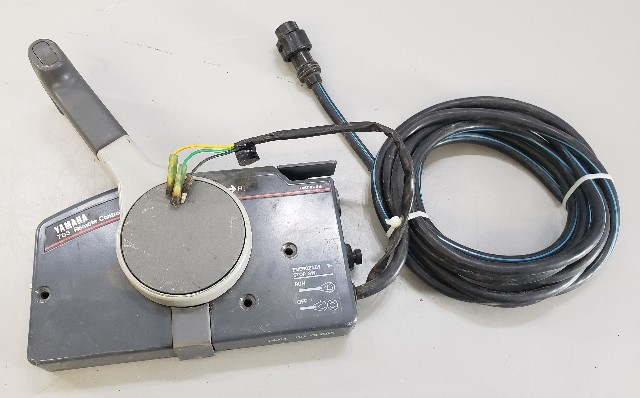 Yamaha 703 Side Mount Remote Control Box W   Harness For