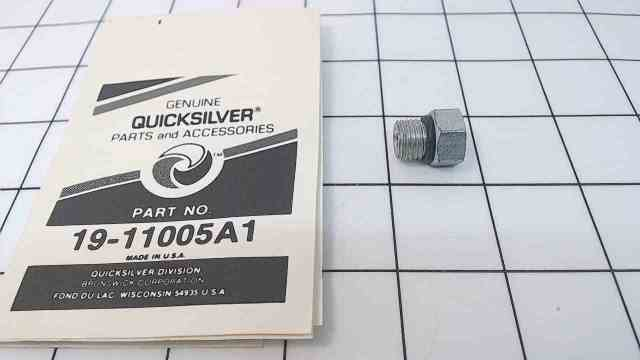 NEW! Mercury Quicksilver Valve Plug Assembly 19-11005A1