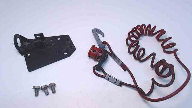 Johnson Evinrude Cover, Button, & Lanyard to P/N 584470