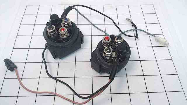 898103T10 898103T09 Mercury Down & Up Power Solenoid Relay Assembly