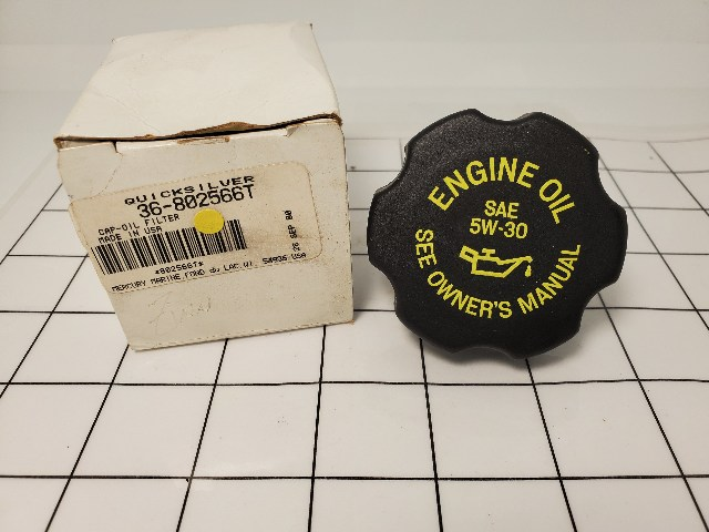 NEW! Mercury Mercruiser Oil Filler Cap 36-802566T