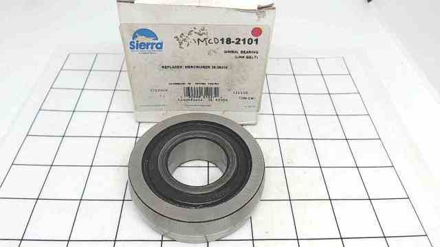 NEW! Sierra Gimbal Bearing 18-2101 / Replace Mercruiser 30-36418