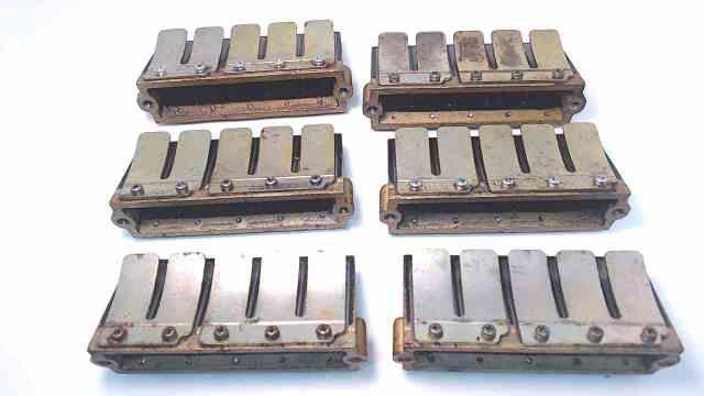 68H-13610-00-00 Yamaha Set of 6 Reed Valve Assembly