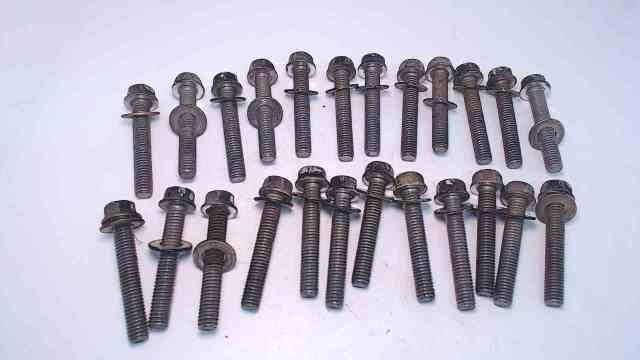 98534 25909 Mercury 1978-2001 Set of 24 Head Bolts W/ Wahsers 135-200 HP