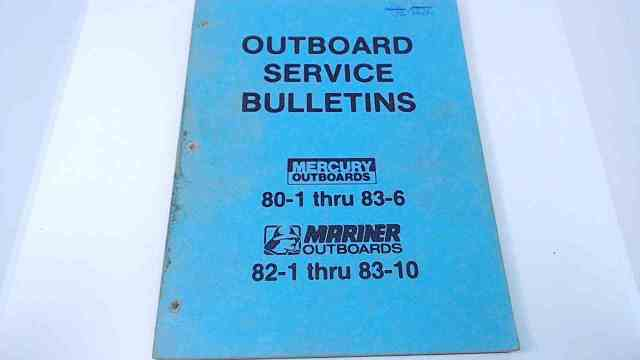 Mercury Mariner Outboards Service Bulletins