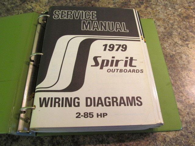 1979 suzuki spirit outboards service manual year set 2 85 hp models rh ebay com 85 Dirt Bike suzuki 50-85 hp outboard motors service manual