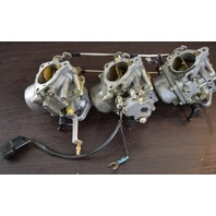 CLEAN! Suzuki Carburetor Set Assembly C# 94 750 & 94 751