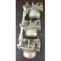 1974 Chrysler Carburetor Set 333061-3 WB-8D WB8D 70 HP 3 cylinder REBUILT!