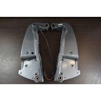 1995 Yamaha Bracket Set W/ Trim Sender 69J-43111-02-8D 69J-43112-01-8D 225 HP V6