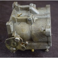 "FOR PARTS OR REPAIR! Johnson Evinrude Carburetor 393194 C# 328817 1-1/4"" Bore V6"