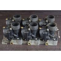FOR PARTS OR REPAIR! Johnson Evinrude Carburetor Set C# 436797 & 340649