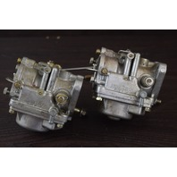 CLEAN! Unknown Years & HPs Suzuki Carburetor Set Stamped W/ M73