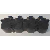 87554 7370A13 Mercury 1976-96 Ignition Coil Set of 4 & Cover 45 50+HP 1 YEAR WTY