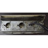 85860 85567 Chrysler 1970's Carburetor Intake Adapter & Cover 70 HP 3 cylinder