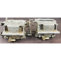 REBUILT! 1972 Johnson Evinrude Carburetor Set 385241 385242 317472 85 HP V4