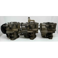 REBUILT 1975 Johnson Evinrude Carburetor Set 386268 387091 C#: 319230 70 HP