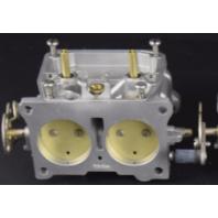 CLEAN! Johnson Evinrude Carburetor Body C# 325416 NO BOWL